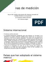 Sistemas de Medición