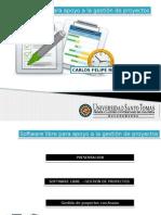 Software libre para la gestión de proyectos