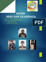 Divisi Seni Dan Olahraga