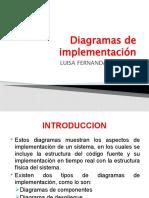 Diagramas de implementación