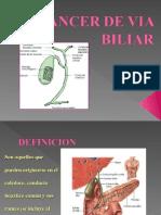 Cancer de via Biliar