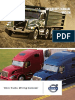 Volvo VNL Operators Manual