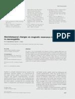 Cambios Mesiotemporales en RMN