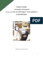 Enfermagem Meio Ambiente e Sustentabilidade
