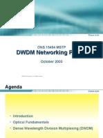 Cisco Systems Dwdm Primer Oct03