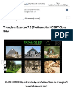Triangles _ Exercise 7.3