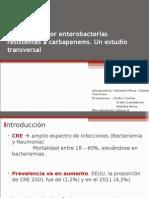 Bacteriemia Por Enterobacterias Resistentes a Carbapenems (Génesis Peréz y Daniela Troncoso Sección 2)