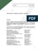 NCh 167-2001 Ladrillos Cerámicos Ensayos