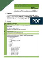 SW-LNX-00000006 - Proceso de Compilación de PHP 5-2-12 en OpenSUSE 11_2 REV 5