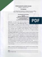 Constitucion de La Empresa 2010