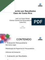 Jose Luis Araya Alpizar Evaluacion de resultados
