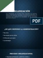 diapositivas ''Organización''