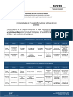 Desarrollo de Evaluación Parcial Virtual 2015-III - Módulo i