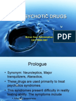 Anti Psychotic Drugs medical