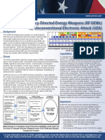 Rf Directed Energy Weapons Fact Sheet 2011