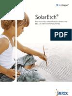 Merck Chemicals - SolarEtch®