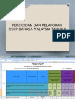 Pelaporan Bahasa Malaysia