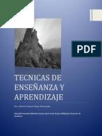 TECNICAS+DE+ENSEÑANZA+APRENDIZAJE