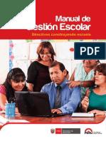 Manual de Gestion Escolar 2015