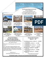 Strong Team Realtors' Weekly Newsletter March 19, 2010