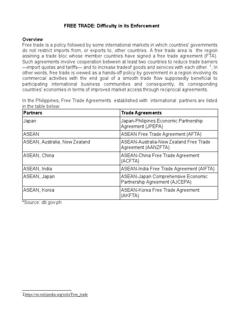 Free trade free trade association of southeast asian nations platinumwayz