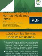 Normas NOM Y NMX