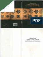Bautista S., Juan José - Hacia Una Crítica-ética de La Racionalidad Moderna