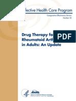 CER55 DrugTherapiesforRheumatoidArthritis FinalReport 20120618