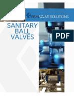 PBM Sanitary Ball Valves