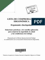 Checklist de Ergonomia - Oit