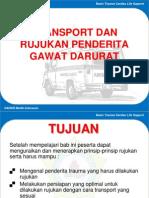 Transport Dan Rujukan Penderita Gawat Darurat