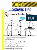 Neutral Standing Poster