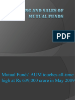 MARKETING and Sales of Mutual Fund