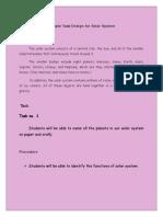 sample task design