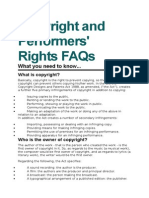 copyright and performers