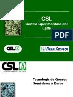 Quesos Semiduros de CSL