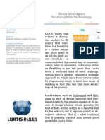 Lurtis Rules — Google Launchpad Case Study