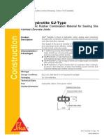 Sika PDS_E_Sika Hydrotite CJ-Type