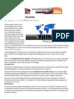 OFW Pre-Departure Checklist - Yahoo News Singapore