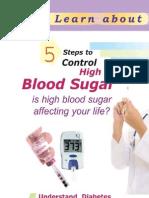 5 Steps to Control High Blood Sugar
