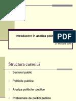 Curs 2 Analiza Politicilor Publice