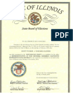 Nomination Certificate