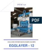 Concrete Block Egglayer EB12 - 10 Oct