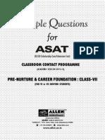 ASAT Class 7