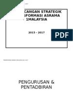 Perancangan Strategik Transformasi Asrama 1malaysia 2015-2017