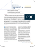 Dissolution Enhancement and Physicochemical Characterization of Valsartan in Solid Dispersions with β-CD, HP β-CD, and PVP K-30