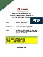 Trabajo de Regirmen Disciplinario Pnp-grupo 10 -Pade-pnp-1