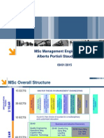Presentation MSc Management Engineering