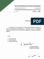 Lege privind Serviciul Național de Informații al Republicii Moldova