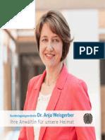 Bürgerbroschüre - Dr. Anja Weisgerber MdB